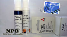Mitsubishi New Genuine Touch-Up Paint Cool Silver Metallic A66