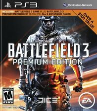 Battlefield 3 Premium Edition PS3 Great Condition Fast Shipping