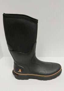"""Carhartt 15"""" Waterproof Snow Boots, Black, Men's 11.5 M"""