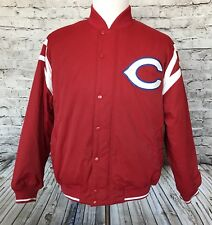 Russell Athletic Cincinnati Reds Baseball Dug Out Mens #4 Jacket Sz L