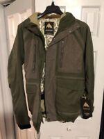 BURTON Men's HELLBROOK Snow Jacket - Keef/Hemp -Medium - NWT