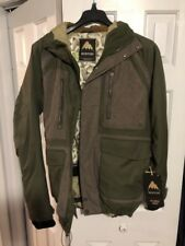BURTON Men's HELLBROOK Snow Jacket - Keef/Hemp - Medium - NWT