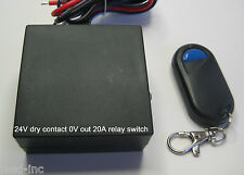 MSD INC 24V 20A dry contact 0Voutput MOMENTARY remote control switch RX42M