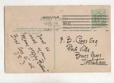 Paddington W No.19 Machine Cancel 15 Jun 1906 400b