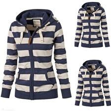 Women's Hoodie Long Sleeve Sweatshirt Jumper Sweater Hooded Pullover Coat Tops