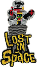 9988 Lost in Space Robot Logo Tv Show Retro Series Embroidered Sew Iron On Patch