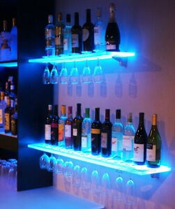 Led Light RGB Acrylic Wall Shelf