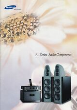 Samsung hi-end A-Series original leaflet 1996 - 8 pages