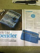 Sporty Sweatbands & Man's Wallet Knitting Pattern