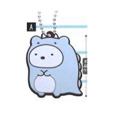 Sumikko Gurashi Shirokuma Rubber Luggage Tag Key Chain