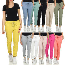 Damen Hose Freizeithose Jogginghose Fitness Sporthose Stretch Leggings Pants 10