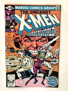 Uncanny X-Men #146- Marvel 1981- Claremont Cockrum- Murderworld/Dr. Doom FN/VF-
