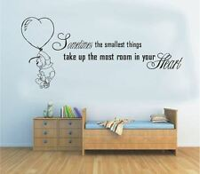 Wall Stickers Winnie The Pooh Smallest Things Vinyl Decal Decor Nursery Kids Part 53