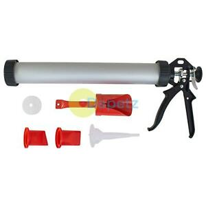 Professional Mortar And Grouting Gun Set For Brick Pointing & TIle Cement Grout