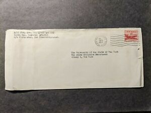 APO 963 FORT DE RUSSY, HAWAII 1954 Army Air Force Cover 315th Tac Hospital