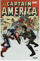 Captain America #14 Variant 1st Meeting Captain America & Winter Soldier 6 MCU