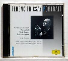 FRICSAY - LIEBERMANN furioso BLACHER paganini-var EGK EINEM - DGG CD NM