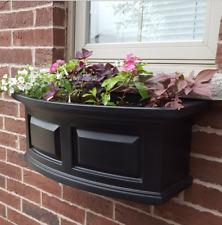 New Mayne Nantucket 2-ft Window Garden Planter Resin Box