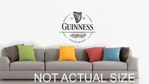 guinness round  Sticker Decals    home / bar / garage / shop / pubshed