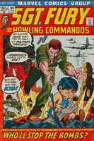 SGT. FURY #94 VG, Dick Ayers art, Howling Commandos, Marvel Comics 1972