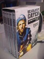 Deadliest Catch Complete 10-Part Series on 5 DVDs new discs