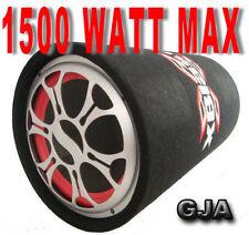 SUBWOOFER AUTO ATTIVO AMPLIFICATO 1500 WATT BASS REFLEX 25 CM.!!!!!