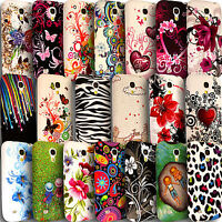Printed Silicone Case for Samsung Galaxy S4 Mini i9190 Gel TPU Rubber Back Cover