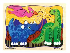 Melissa & Doug Prehistoric Pals - Layered Wood Puzzles   (NEW) 3739