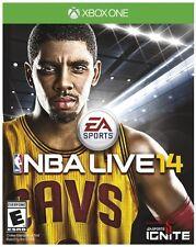 NEW NBA LIVE 14  (Microsoft Xbox One, 2013) Basketball NTSC