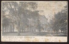 Postcard JACKSONVILLE Illinois/IL  Institute for the Blind Building view 1907