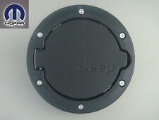 JEEP WRANGLER 207 - 2013 SATIN BLACK FUEL FILLER DOOR TANK GAS CAP