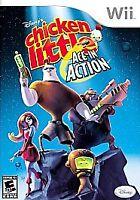 Disney's Chicken Little: Ace in Action (Nintendo Wii, 2006) Complete