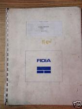 Fidia CNC Control Controller M2/M30 User's Manual