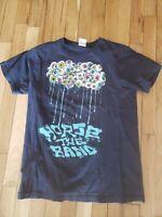 Vintage OOP Horse the Band Medium Shirt Weird Scene Eyeball Rain Tears damaged