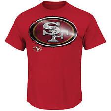 NFL Football T-Shirt SAN FRANCISCO 49ERS Line-to-Gain von Majestic neu