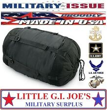 USED Military Issue 6 Strap Compression Stuff Sack for Military Sleep System MSS