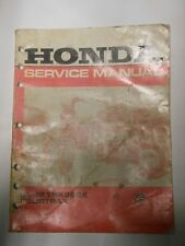 Honda ATV OEM Service Repair Parts Manual 1991-1992 TRX250X Fourtrax In Stock