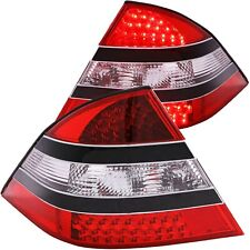 ANZO L.E.D TAIL LIGHTS RED/CLEAR (MID-BLACK) FOR 00-05 S430/S450/S500/S550/S600