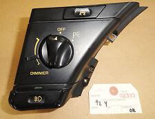 92-93 Corvette Headlight Head Lamp Switch w/ Asr w/ Fog Lamps 02333