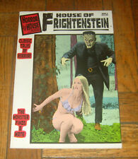 HOUSE OF FRIGHTENSTEIN # 1  COMIC BOOK FORMAT