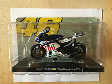 "DIE CAST "" YAMAHA YZR-M1 WARRIORS OF THE WORLD CHAMPION 2010 "" VALENTINO ROSSI 1"
