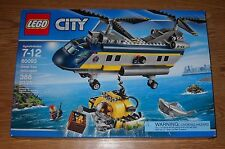 NEW LEGO CITY 60093 DEEP SEA HELICOPTER, FACTORY SEALED, QUICK SHIPPING!