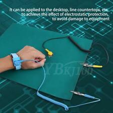 Electrostatic Discharge Anti-Static Wrist Strap Ground Wire Mat for Phone Repair