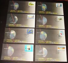 Dawn Of The Millennium 8 Different Eyewitness To History Fdc