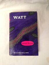 Samuel Beckett - WATT - 1958 Olympia Press in Original Jacket - Very Nice Copy