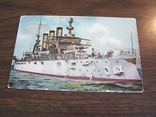 VINTAGE - U,S, BATTLESHIP - RHODE ISLAND - POST CARD