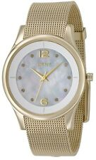DKNY Stainless Steel Slim Mesh Strap Watch NY4917