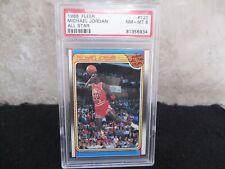 1988 Fleer All-Star Michael Jordan #120 PSA 8. Sharp Early Card Rare, Hot!!!