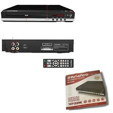 Sandoo Multimedia DVD player. Compatible: DIGITAL VIDEO DISC VCD/CD-R/MP4 MP2206
