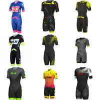 Muti Color Summer Men Cycling Jumpsuit Short Sleeve Mens Cycling Skinsuit